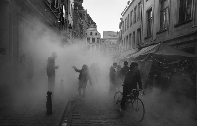 fog street